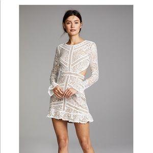 For Love and Lemons Emerie Cutout Dress